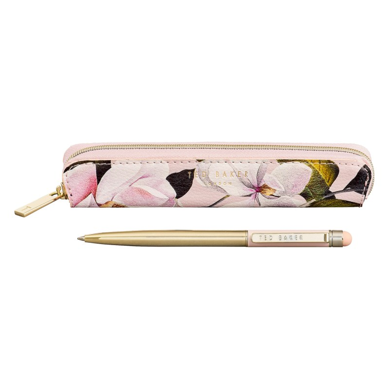 """Ted Baker – Pink Opal Touchscreen Pen with Case in """"Truly Gifted"""" Gift Box"""