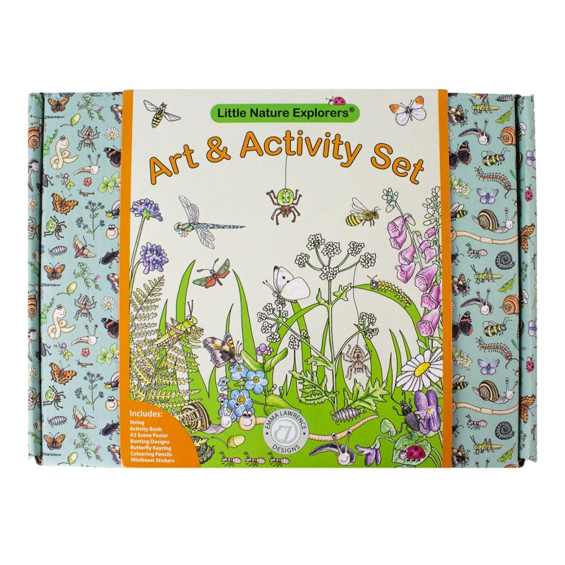 Emma Lawrence – Little Nature Explorers Art & Activity Set