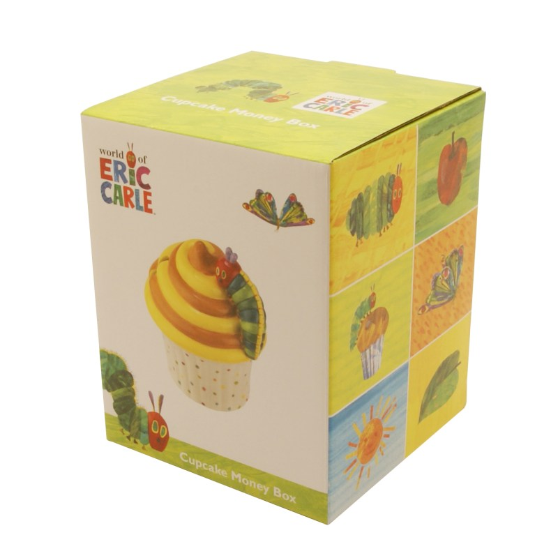 Portmeirion – The Very Hungry Caterpillar Cupcake Money Box in Presentation Gift Box