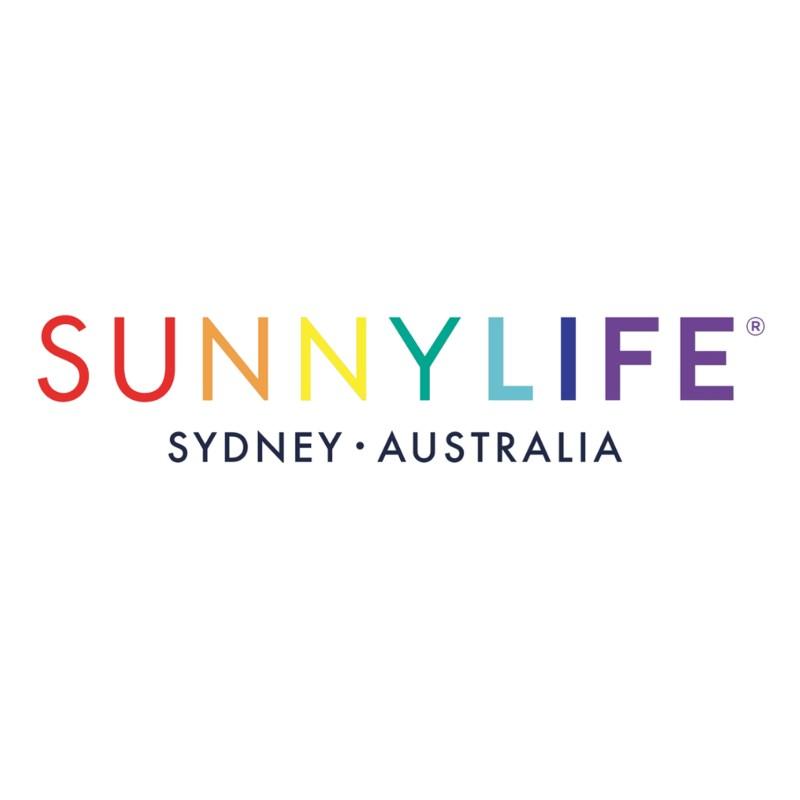 Sunnylife – Kasbah Beach Bats Set in Zipper Case