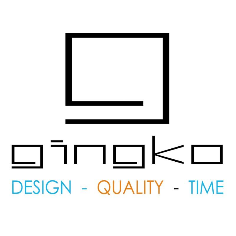Gingko – Octagon One Desk Light/Lamp in Gift Box – White