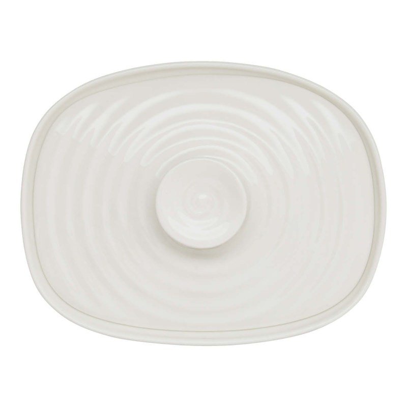 Sophie Conran for Portmeirion – White Covered Butter Dish in Gift Box