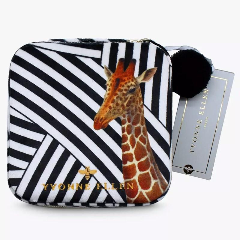 Yvonne Ellen – Giraffe Velvet Jewellery Box