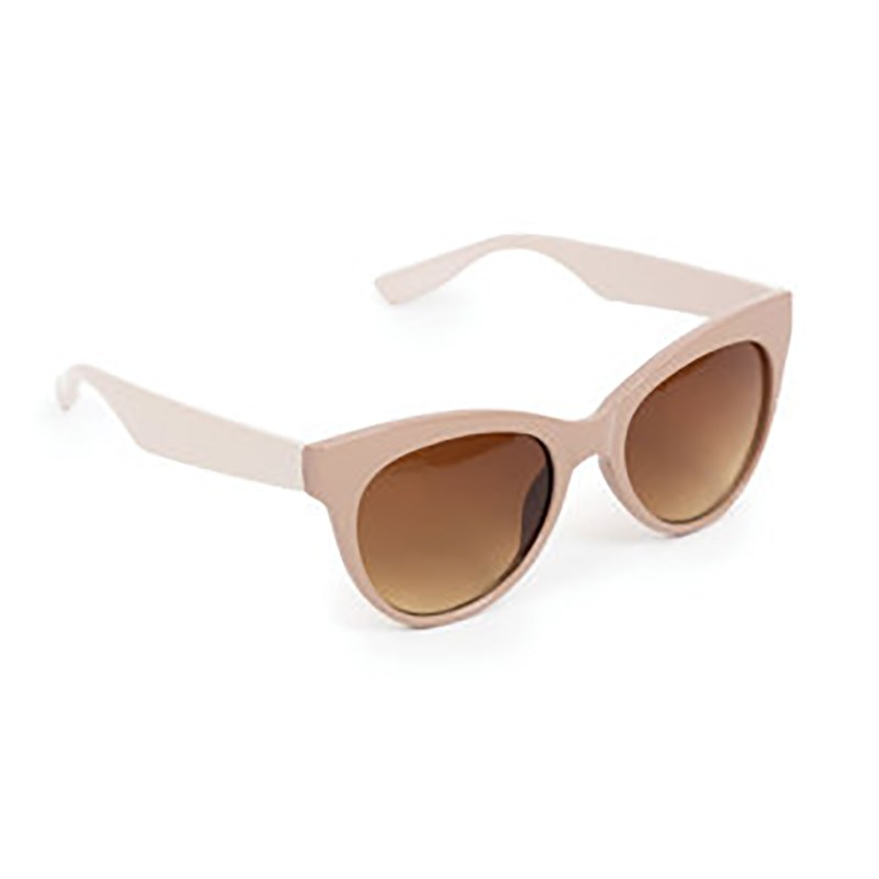 Powder – Cream & Taupe Pamela Sunglasses with Pouch and Case