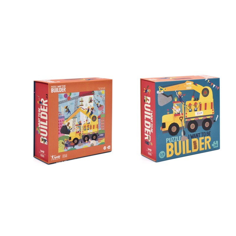 Londji – I want to be Builder….. Puzzle in Box