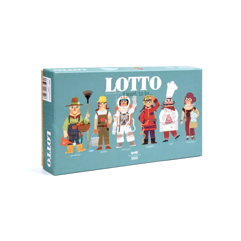 Londji – I want to be…. Lotto Game in Box