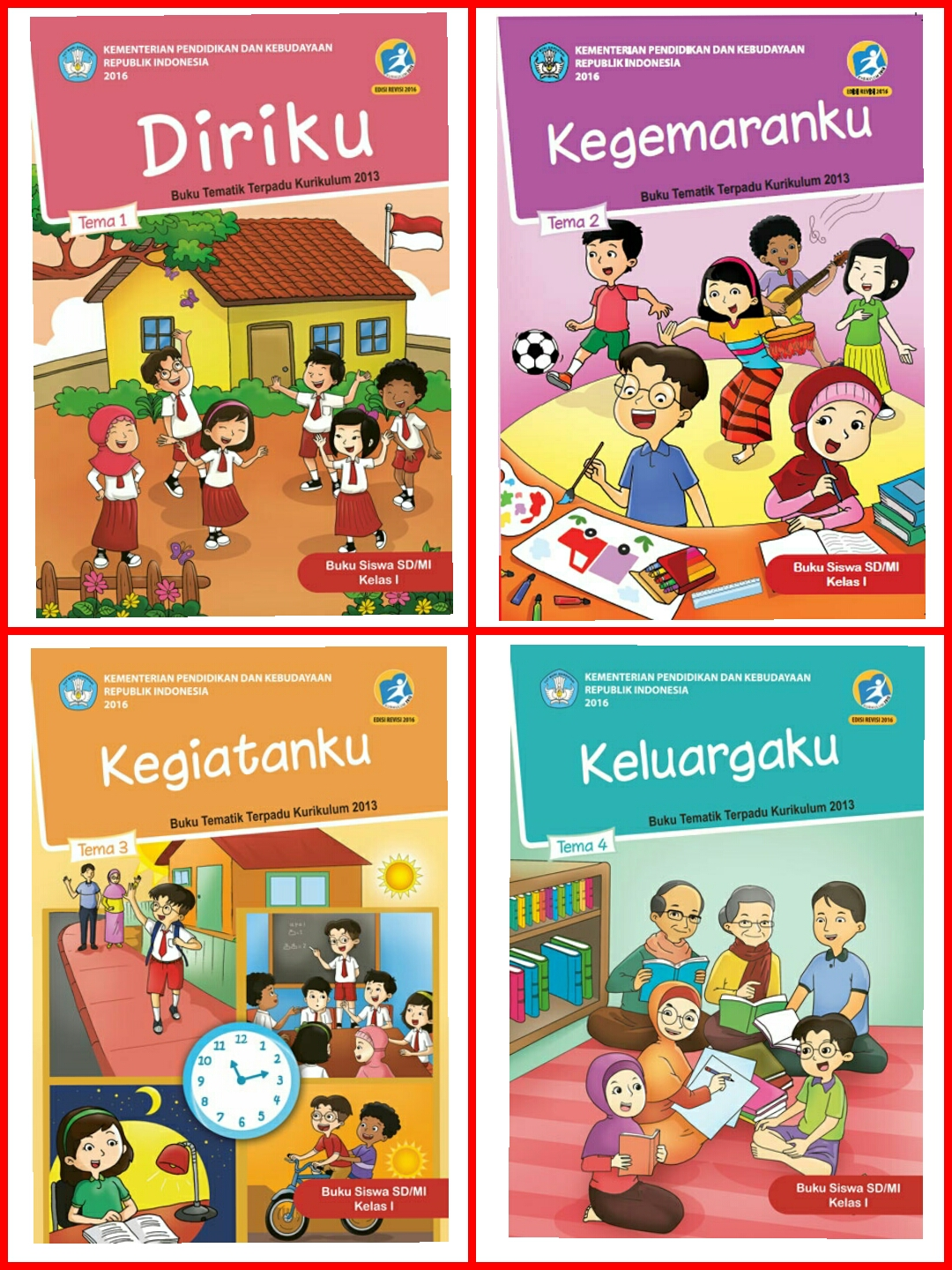 Download Buku PJOK Kelas 1,2,3,4,5,6 SD Kurikulum 2013 Revisi...