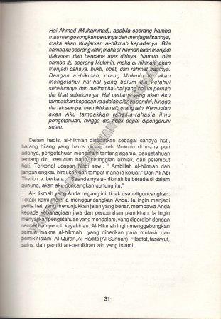 31. Sanad-Sanadnya 3