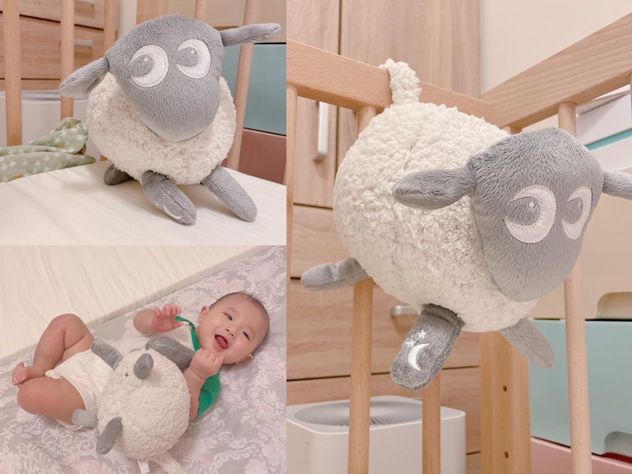 《好物》媽咪的育兒好朋友!安撫寶寶的可愛神器–甜夢綿羊Ewan