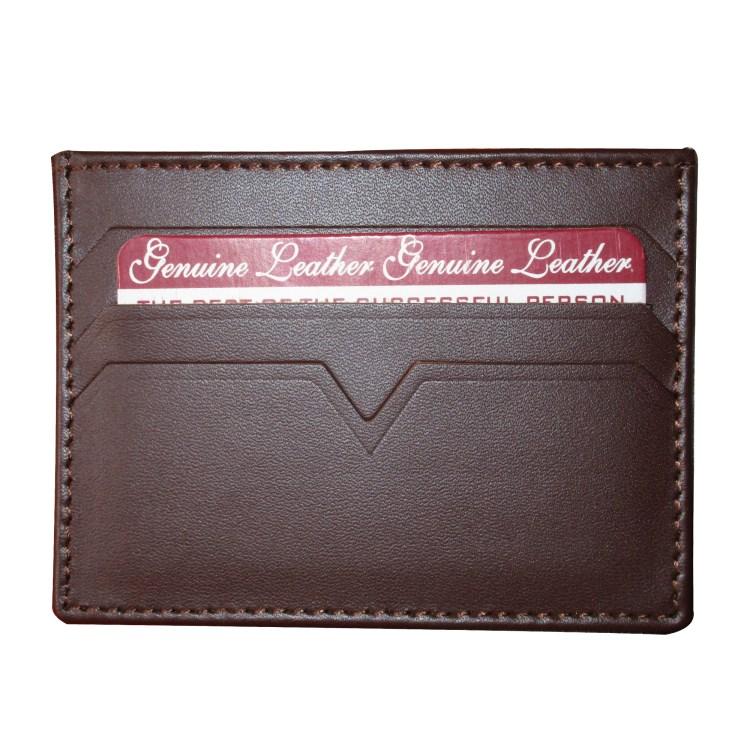 Card Holder Dark Brown