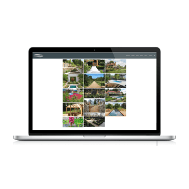 PC Landscapes Dynamic Website Design