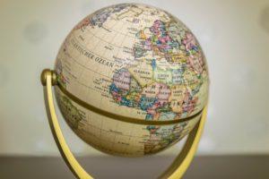 多国籍の方からのビザ申請依頼-世界地図