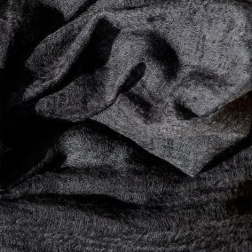 Yazemeenah Cashmere Shawl in Charcoal