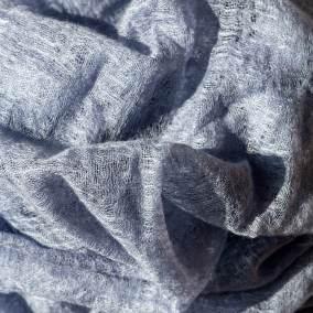 Yazemeenah Cashmere Shawl in Blue Grey