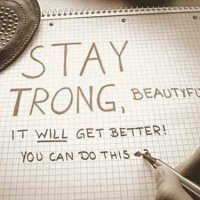 Stay Strong!. (Inspo Wednesday's)