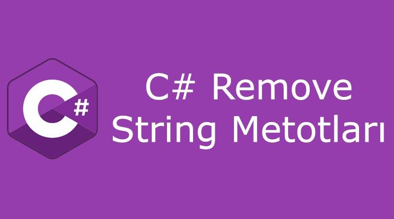 C# remove