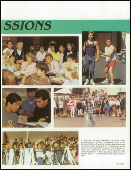 Explore 1990 Costa Mesa High School Yearbook Costa Mesa