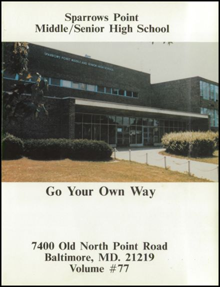 Explore 1981 Sparrows Point High School Yearbook