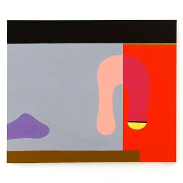 Glauco Menta - Sem Título, 2020 - Acrílica s/ tela - 50 x 60 cm