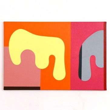 Glauco Menta - Sem Título, 2020 - Acrílica s/ tela - 40 x 60 cm