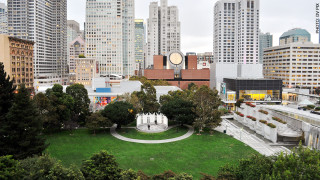 Photo of the Yerba Buena Gardens Esplanade