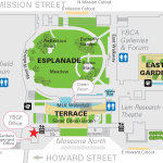 Map of Yerba Buena Gardens central block 2