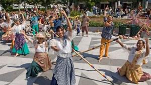 Photo of dancers at Pistahan