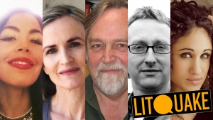 Litquake + Tria Andrews, Rebecca Foust, Bill Mayer, Bruce Snider, and musical guest Naima Shalhoub