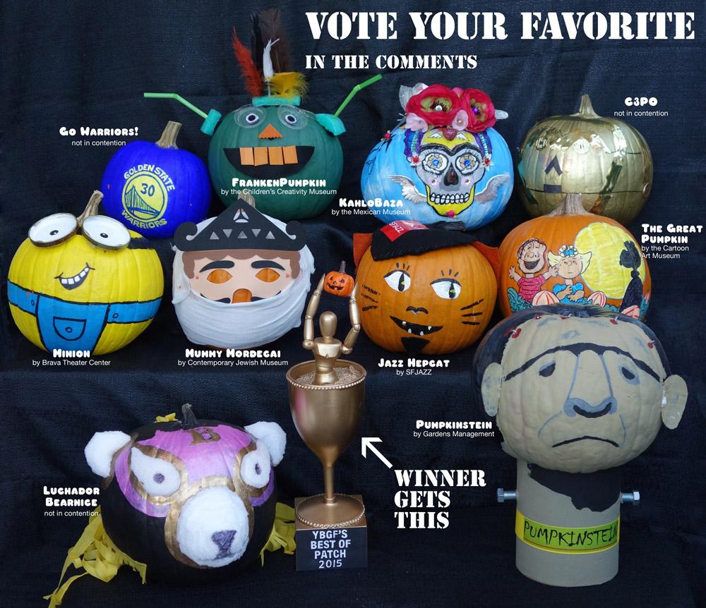 Pumpkin Patch 2015 - Vote your favorite!