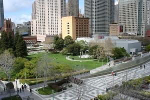 Photo of the Yerba Buena Gardens Esplanade and Terrace