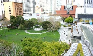 2013 Photo of Yerba Buena Gardens Esplanade