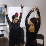 Photo of two flamenco dancers