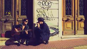 Photo of Maria Volonte and Kevin Carrel Footer of the Blue Tango Project