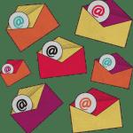 Illustration of emails