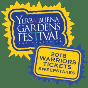 Yerba Buena Gardens Festival 2018 Warriors Tickets Sweepstakes