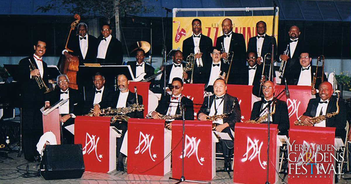 Photo of David Hardiman's San Francisco All Star Big Band