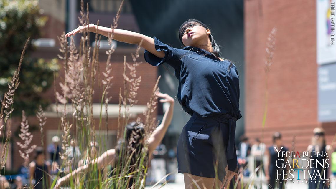 Photo of RAWdance at Yerba Buena Gardens ChoreoFest 2017 by Hillary Goidell