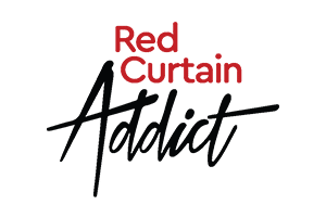 Red Curtain Addict logo