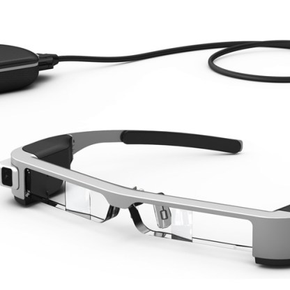 Moverio BT-300 Smart Glasses. Source: Epson America, Inc.