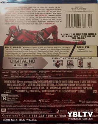 Deadpool Movie Case Back Cover. Source: Jack X / YBLTV / YBL, LLC.