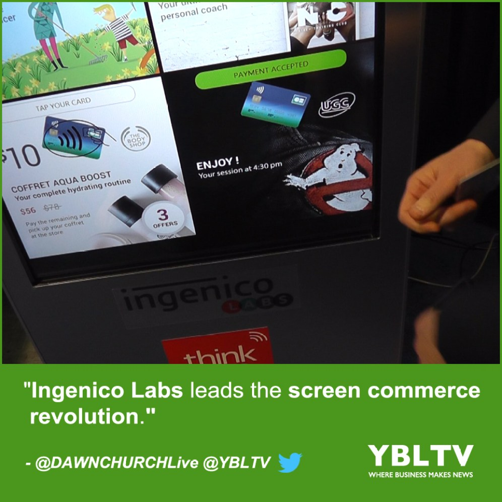 Ingenico Labs Leads the Screen Commerce Revolution.