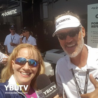 YBLTV Anchor, Erika Blackwell stops by Dometic's booth to check out their products.