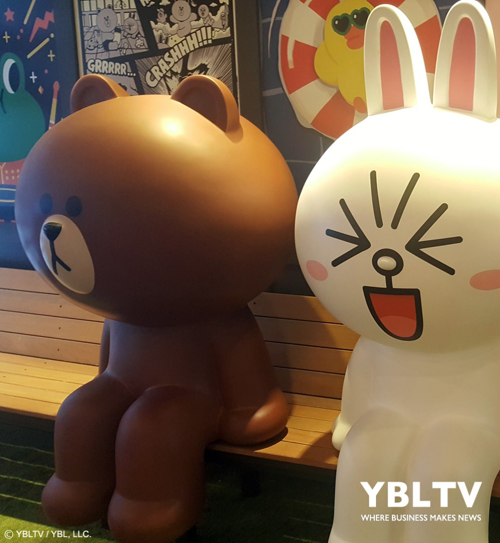 Line Friends at Licensing Expo, 2017.