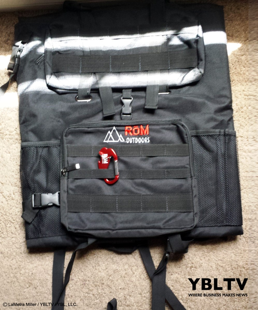 YBLTV Writer / Reviewer LaMetra Miller reviews RōM Outdoors - Rom Pack.