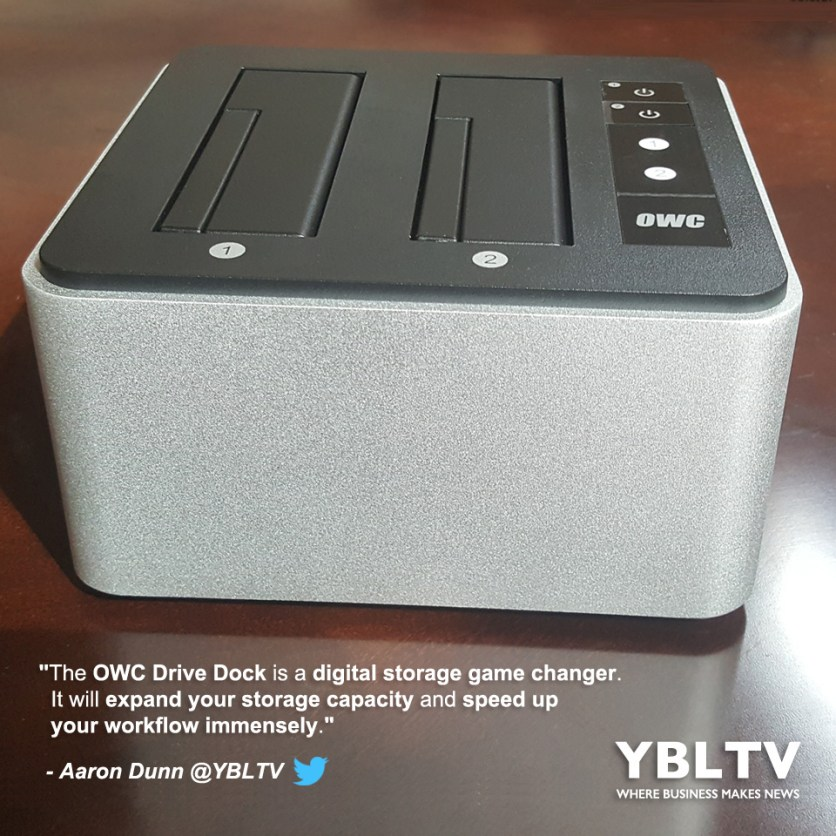 YBLTV Giveaway: OWC Drive Dock. Review by Aaron Dunn.