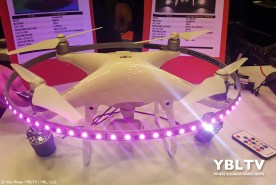 LED Air Lights at InterDrone 2017.