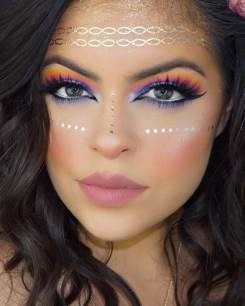 Fabulous-Eye-Makeover-With-Rainbow-Colors-