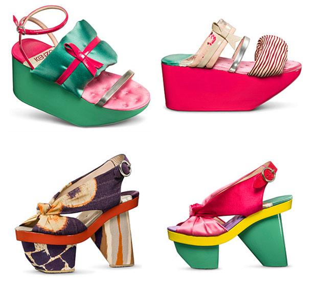 Kenzo Kimono Shoes