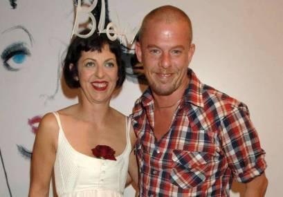 Isabella Blow et Alexander MCQueen