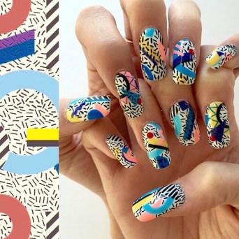 Geometric-print-nails-by-Mei